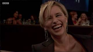 Emilia Clarke Accepts Award For British Artist Of The Year | Britannia Awards 2018