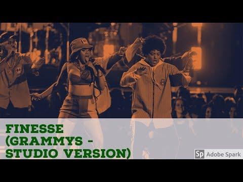 Bruno Mars  Ft. Cardi B  (Finesse Grammys - Studio Version) mp3