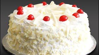ഓവൻ ഇല്ലാതെ എളുപ്പത്തിൽ ഒരു വൈറ്റ് ഫോറെസ്റ് കേക്ക്|white Forest Cake Without Oven In Malayalam