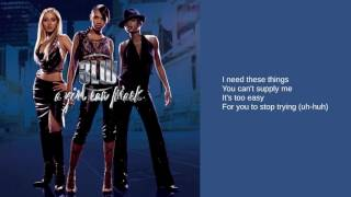 3LW: 03. I Need That (I Want That) (ft. Lil' Kim) (Lyrics)