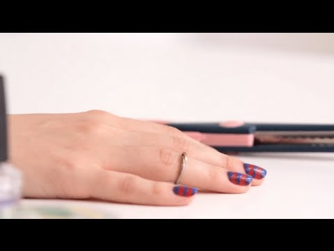 How to diy chevron nails solutioingenieria Image collections