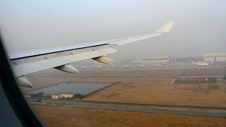 preview picture of video 'Cathay Pacific: Smoggy Shanghai Arrival Runway 35L'