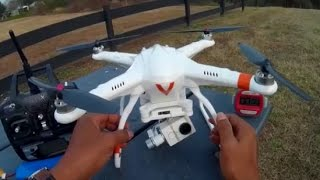 "FREE-X MCFX-01 ""FACTORY 3 AXIS GIMBAL TEST &  FLIGHT"