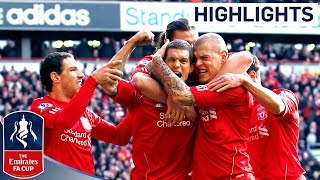 Liverpool 21 Man Utd  Official Highlights And Goals  FA Cup 4th Round Proper 280112