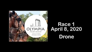 Race 1 at Olympia Palm Beach 4/8/2020 Drone Version