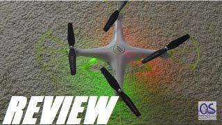 REVIEW: SYMA X5HW FPV 2.4Ghz 4CH RC Drone Quadcopter (WiFi)