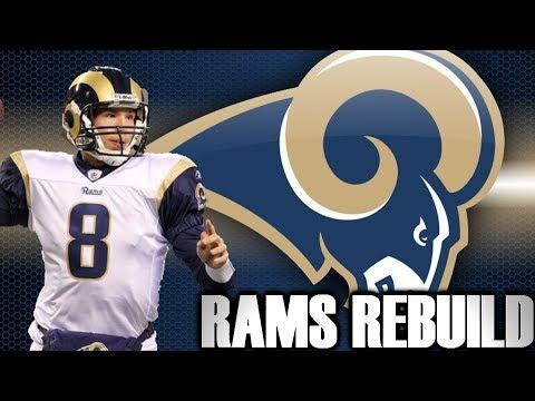 Building a Champion through the Draft - RAMS REBUILD MADDEN 12