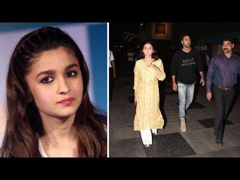 Alia Bhatt Angry On Ranbir Kapoor | Latest Bollywood Gossips 2018