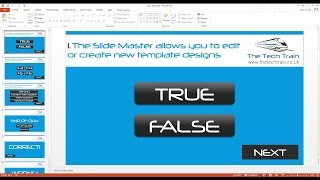 How to create an interactive quiz in PowerPoint