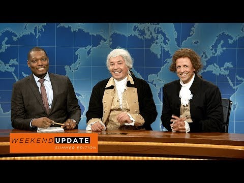 Weekend Update: Washington and Jefferson on Being Compared to Robert E. Lee - SNL