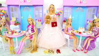 Barbie Happy Birthday Party House & Gifts Playset Geburtstag Cadeaux Ulang tahun هدايا Aniversário