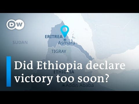 Rockets from Ethiopia's Tigray fired at Eritrean capital Asmara | DW News