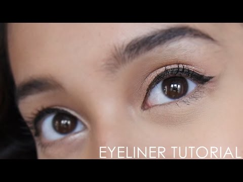 BEGINNER SERIES :  EYELINER TUTORIAL | Nadya Aqilla