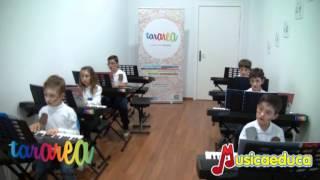 La marioneta vieja - Grupo de alumnos de Mi Teclado 2 - Tararea Laboratorio Musical
