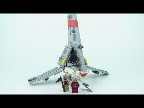 LEGO Star Wars T-16 Skyhopper 75081 Review!!! From 2015