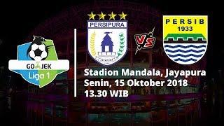 Live Streaming Indosiar Liga 1 Indonesia, Persipura Vs Persib Bandung, Pukul 13.30 WIB