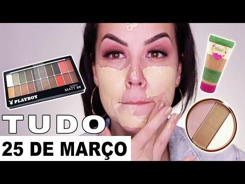 Maquiagem 25 de Março