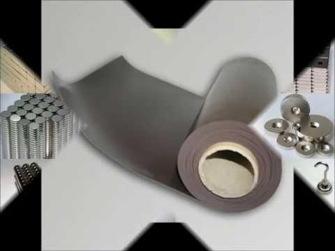 Ecomag: spécialiste des aimants permanents et du caoutchouc magnétique.
