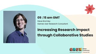 Increasing Research Impact through Collaborative Studies - Steve Bromley