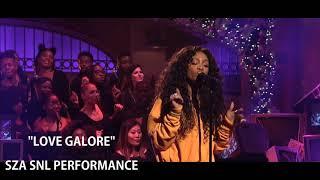 """Love Galore"" SZA - SNL Performance Audio"