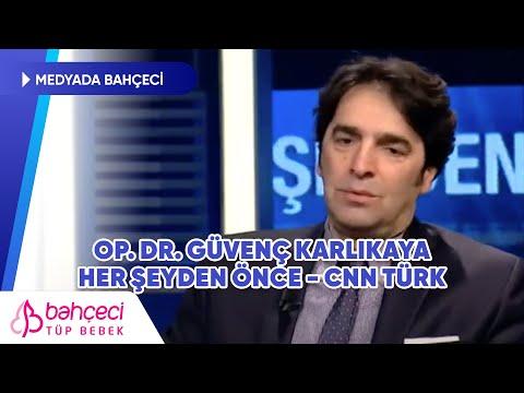 CNN Türk | Herşeyden Önce | Op. Dr. Güvenç Karlıkaya | Bahçeci Tüp Bebek