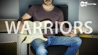 Imagine Dragons - Warriors - Electric Guitar Cover by Kfir Ochaion