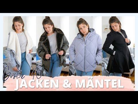 JACKEN & MÄNTEL GRÖßE 40 | Live Vergleich - Was können kurvige Frauen tragen? | #kleinundkurvig