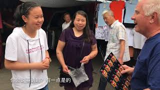 preview picture of video 'Big outdoor market in Luoyang China'