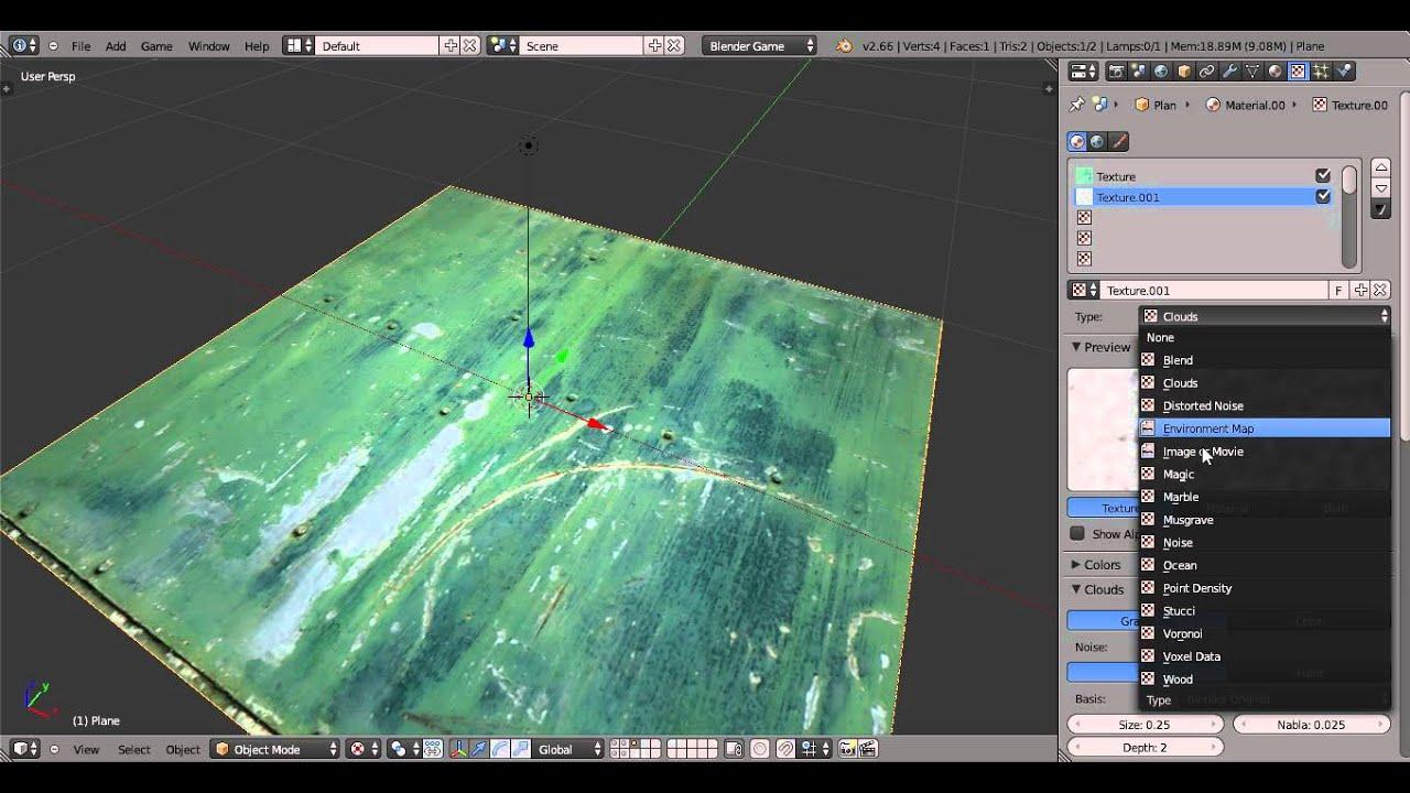 Blender Game Engine Tutorial-Reflektionen