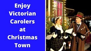 Victorian Carolers at Christmas Town  |  Busch Gardens Travel Adventure