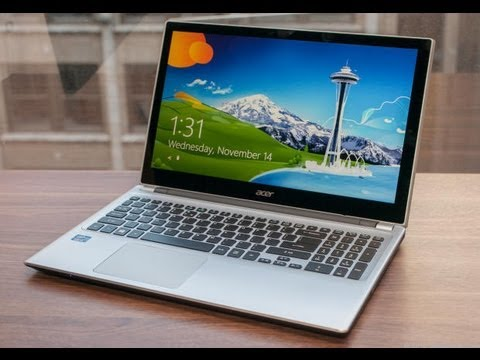 Acer Aspire V5 Touch Notebook Unboxing and Review