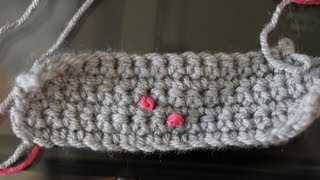 French Knots On Crochet