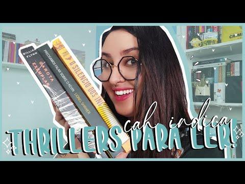 3 THRILLERS PARA LER | por quais livros começar no gênero? Tia cah ajuda! ? | por Carol Sant