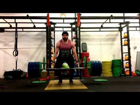 Trap Bar Deadlift to knee/pause at knee