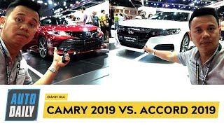 So sánh nhanh Camry 2019 và Accord 2019: Bạn chọn xe nào? |BIMS 2019|