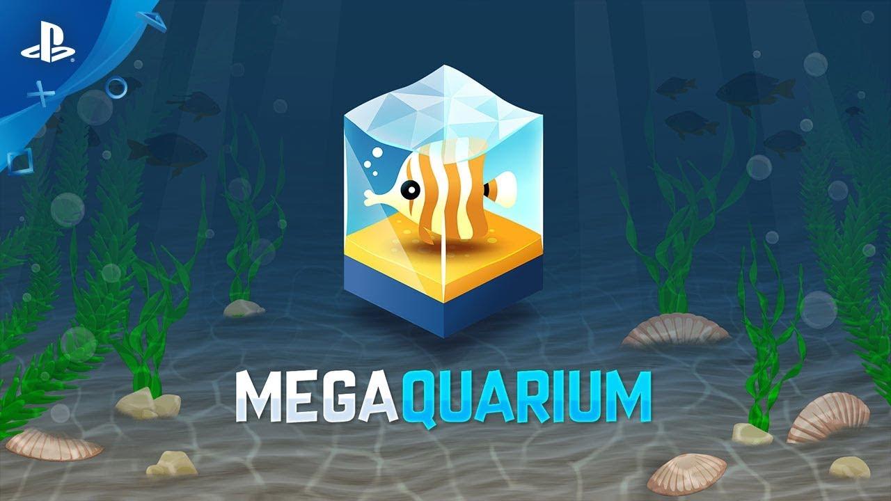 Erlebt faszinierende Unterwasserwelten mit dem Aquazoo-Tycoon-Spiel Megaquarium, das nächsten Monat für PS4 erscheint