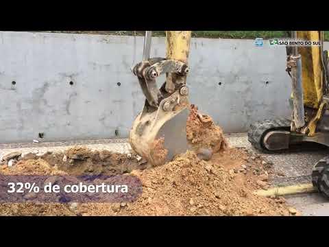 Vídeo Obras de Esgoto Sanitário