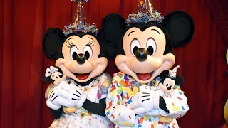 NEW Mickey & Minnie Mouse Meet & Greet In 90th Birthday Celebration Outfits At Magic Kingdom, Disney