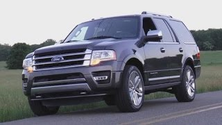 2015 Ford Expedition Platinum Test Drive Video Review