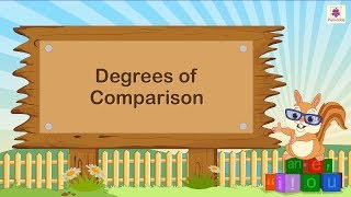 Degrees Of Comparison | English Grammar | Periwinkle