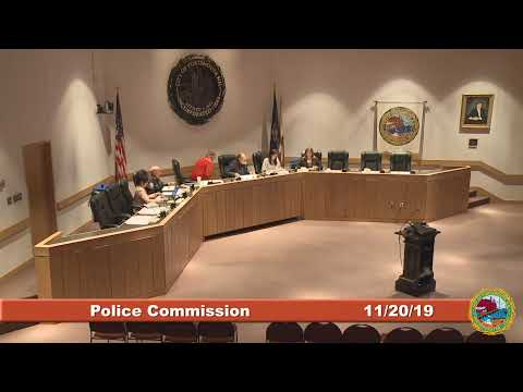 Police Commission 11.20.19