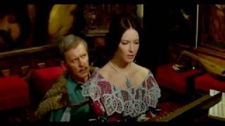 """Барбара Брыльска и Магдалена Завадска в фильме """"Пан Володыёвский"""" (1969), часть 3-я."""