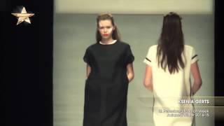 Показ KSENIA GERTS на Неделе моды в Санкт-Петербурге осень-зима 2014/15