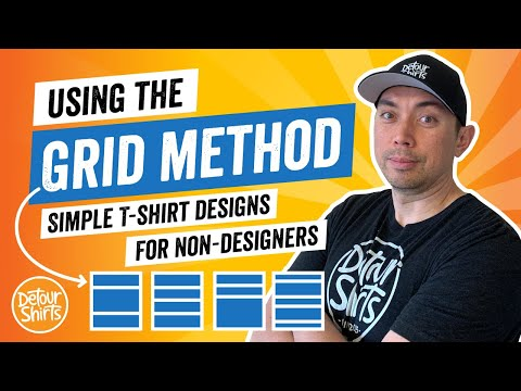 T Shirt Design Secrets for Non Designers - The Grid Method plus Other Helpful Ideas to Inspire You