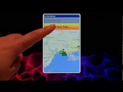 Video of Go-Taxi - tap the app and go!