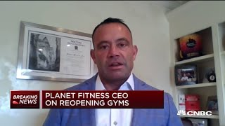 Planet Fitness CEO on in-home workouts and reopening gyms