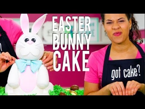 Video How To Make an EASTER BUNNY CAKE! Filled With 4 Delicious Flavours Of CADBURY CRÈME EGGS!