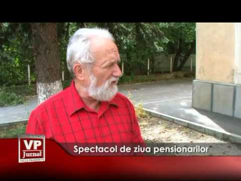 Spectacol de ziua pensionarilor