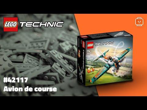 Vidéo LEGO Technic 42117 : Avion de course