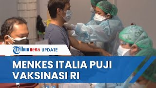 Menkes Italia Kaget Indonesia Sudah Vaksin 100 Juta Lebih Penduduk, Padahal Tak Punya Pabrik Vaksin